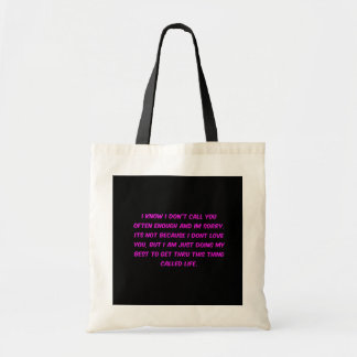 JUST TRYING TO GET THROUGH LIFE MENOPAUSE EMO FRIE TOTE BAG