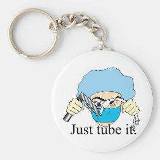 Just tube it keychain