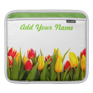 Just Tulips 2 iPad Sleeve