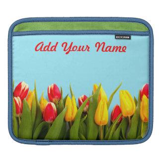 Just Tulips iPad Sleeve