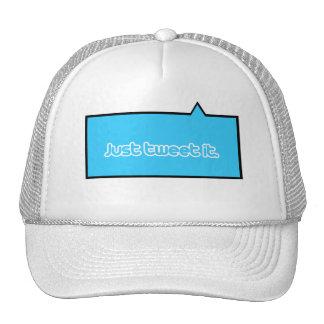 Just tweet it trucker hat
