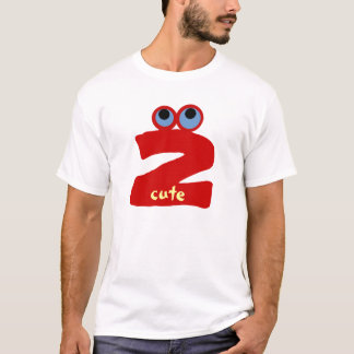 """Just """"Two"""" Cute! T-Shirt"""