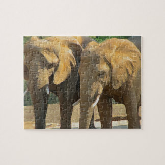 Just Two Elephant Friends Jigsaw Puzzle