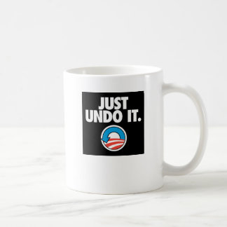 Just Undo It. Classic White Coffee Mug