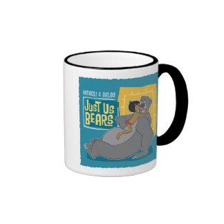 Just Us Bears: Mowgli and Baloo Disney Ringer Coffee Mug
