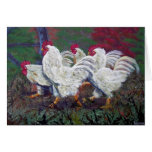 'Just Us Chickens'  Greeting Card