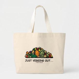 Just Vegging Out... (Vegetarian Humor) Bag