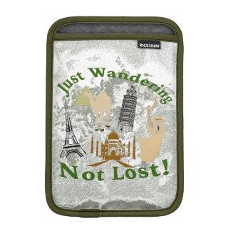 Just Wandering Not Lost Design iPad Mini Sleeve