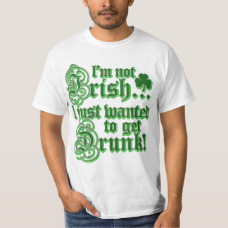 Just Wanted To Get DRUNK T-Shirt