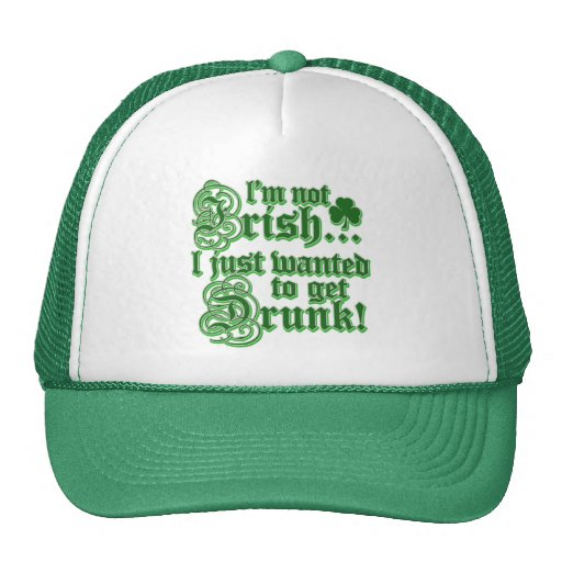 Just Wanted To Get DRUNK Trucker Hat