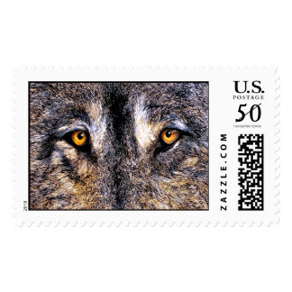 Just Watching Wolf Eyes, Postage Stamps