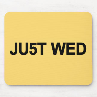 Just Wed - William & Kate Royal Wedding Mouse Pad