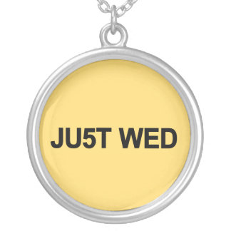 Just Wed - William & Kate Royal Wedding Silver Plated Necklace
