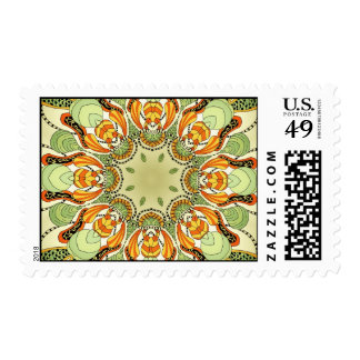 Just Weird Kaleidoscope Style Postage