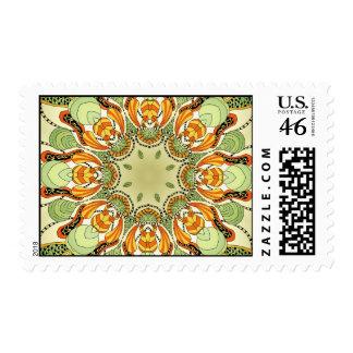 Just Weird Kaleidoscope Style Stamps