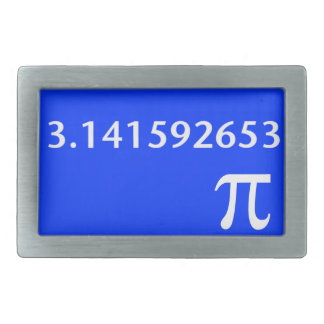 Just White Pi Nothing More 3.14 Belt Buckle