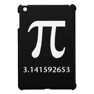 Just White Pi Nothing More 3.14 iPad Mini Cover