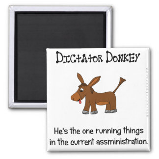 Just who is in charge of the administration 2 inch square magnet
