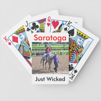 Just Wicked Bicycle Playing Cards
