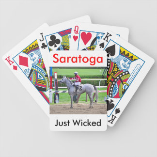 Just Wicked Reflects Bicycle Playing Cards