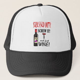 Just Wine Trucker Hat