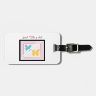 Just Wing It Bag Tag