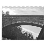 just words (black and white photos) wall calendar