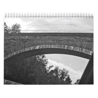 just words (black and white photos) calendar
