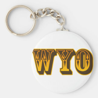 Just WYO Key Chains