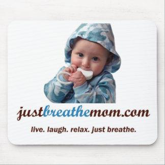 JustBreatheMom.com Mousepad Tapetes De Ratones