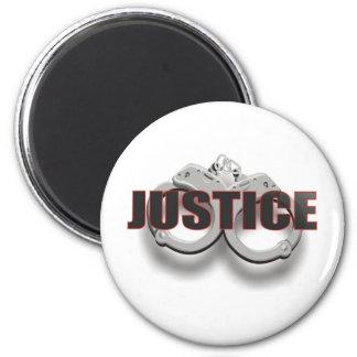 JUSTICE 2 INCH ROUND MAGNET