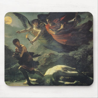 Justice And Divine Vengeance Pursuing Crime Mouse Pad