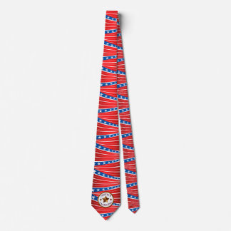 Justice and Fairness Stars and Stripes Tie
