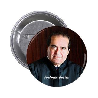 Justice Antonin Scalia Pinback Button