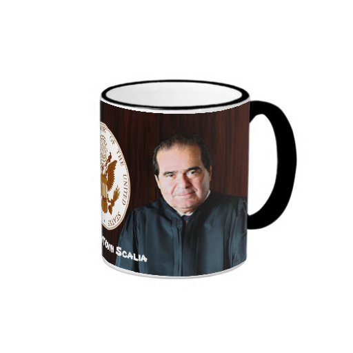 Justice Antonin Scalia - U.S. Supreme Court Mugs
