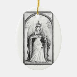 Justice Ceramic Ornament