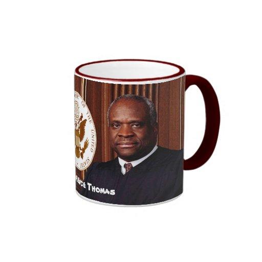 Justice Clarence Thomas - U.S. Supreme Court Mugs