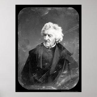 Justice Cranch Daguerreotype 1846 Poster
