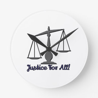 Justice For All! Clocks