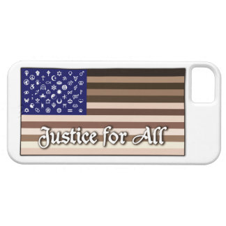 Justice for All Flag iPhone SE/5/5s Case