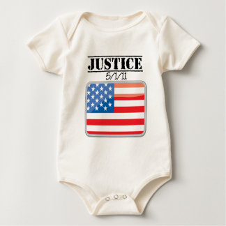 Justice for America 5/1/11 Baby Bodysuit