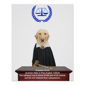 Justice for Animals Print