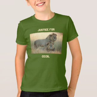 Justice for Cecil with Jericho Brother Lions T-Shirt