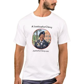 Justice for Clevy man's shirt