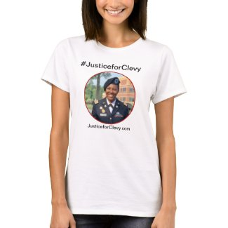 Justice for Clevy Woman's Shirt