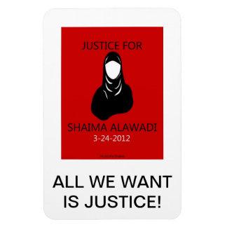 jUSTICE FOR SHAIMA Magnet