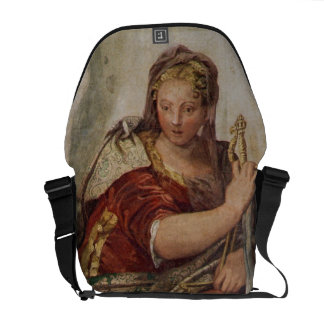 Justice, from the walls of the sacristy (fresco) messenger bags