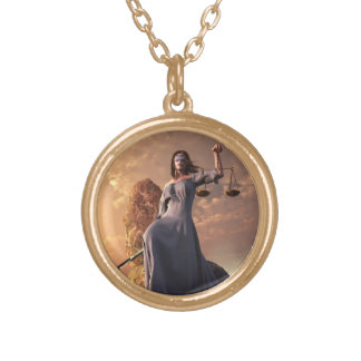 Justice Gold Plated Necklace