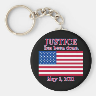 JUSTICE HAS BEEN DONE Tshirt Keychains