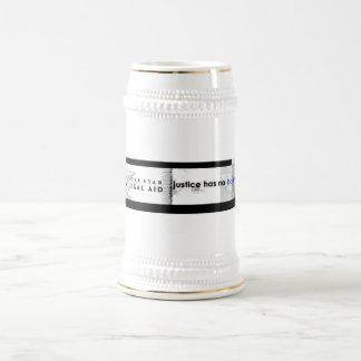Justice Has No Boundaries beer stein 18 Oz Beer Stein